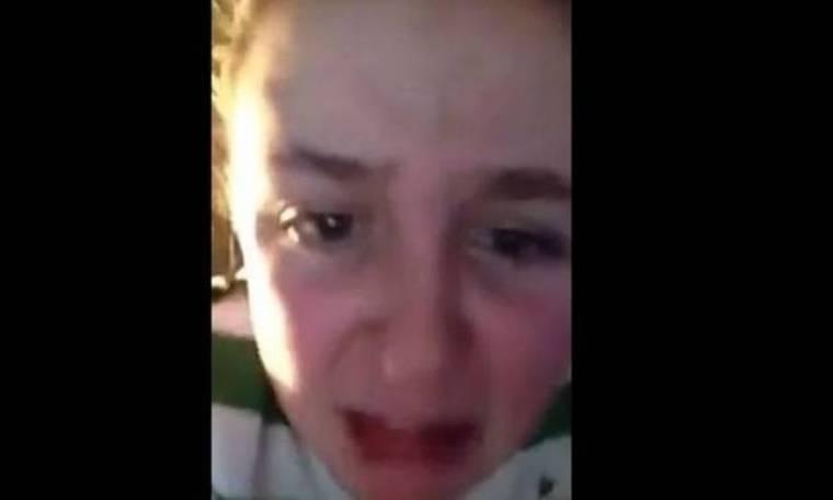 Σέλτικ: Κλάμα και... βρισιές νεαρής οπαδού για Γιουβέντους! (video)