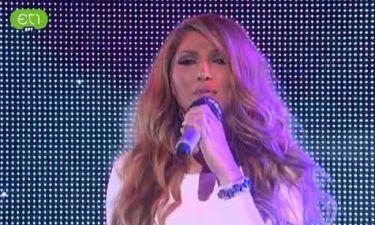 Eurovision 2013: Με λευκό φόρεμα επι σκηνής!