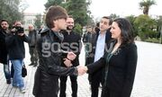Eurovision 2013: Bilan- Serifovic-Ruslana-Παπαρίζου επισκέφτηκαν το Εθνικό Αρχαιολογικό μουσείο