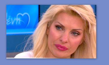 Τα δάκρυα της Ελένης Μενεγάκη για τον θάνατο συνεργάτη της