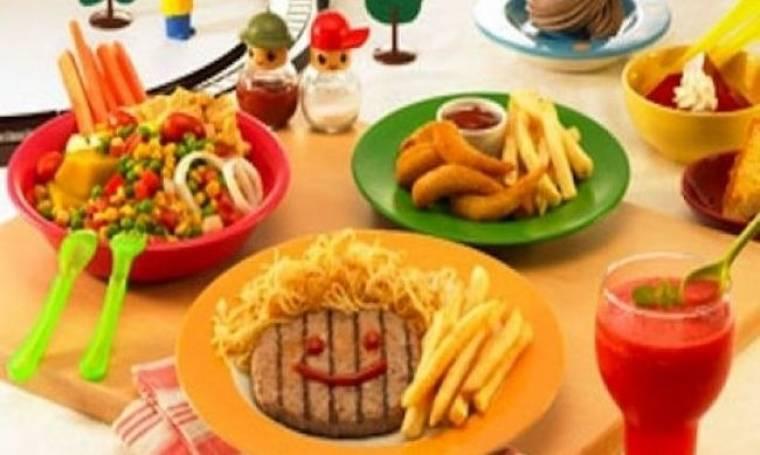 Το πιο απλό αδυνάτισμα: Φάτε σαν παιδιά!