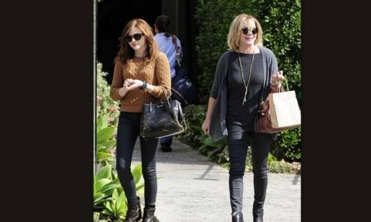 Chloe Moretz: Shopping time με την μητέρα της (φωτό)