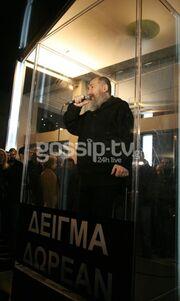 Η επιστροφή του Τζίμη Πανούση στη νυχτερινή Αθήνα (φωτογραφίες)!