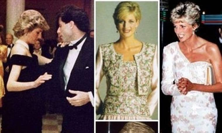 Δέκα από τα πιο θρυλικά φορέματα της πριγκίπισσας Diana βγαίνουν στο σφυρί!