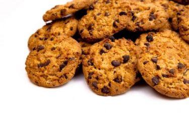 Υπέροχα τραγανά μπισκότα σοκολάτας!