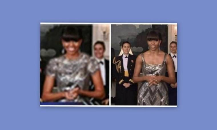 "To Ιρανικό πρακτορείο ειδήσεων, ""έντυσε"" με photoshop την Μισέλ Ομπάμα"