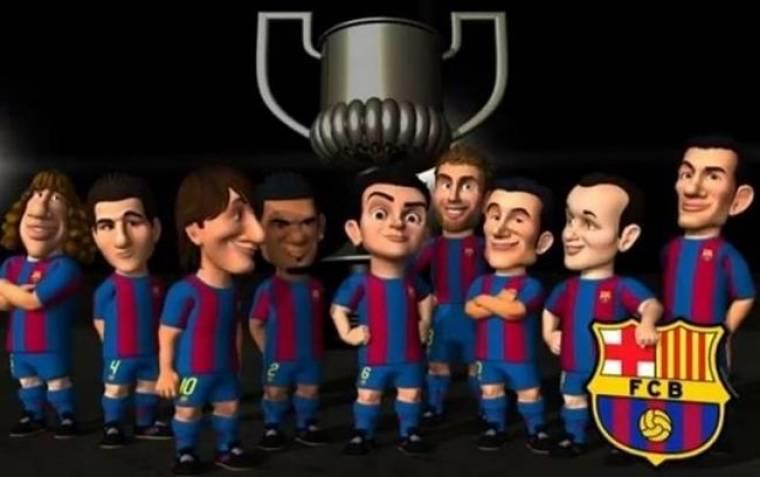Μπαρτσελόνα: Τα Barca Toons βάζουν πολλά γκολ στη Ρεάλ (video)