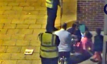 Κάμερες ασφαλείας εμπορικού κέντρου στη Βρετανία κατέγραψαν γέννα στη μέση του δρόμου!