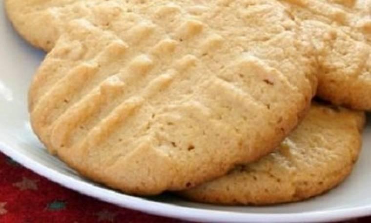 Μπισκότα με μέλι και φυστικοβούτυρο