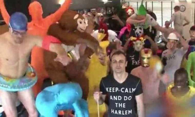Μπερμπάτοφ σε απολαυστικό... Harlem Shake (video)