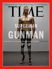 Όσκαρ Πιστόριους: Έγινε εξώφυλλο στους TIME