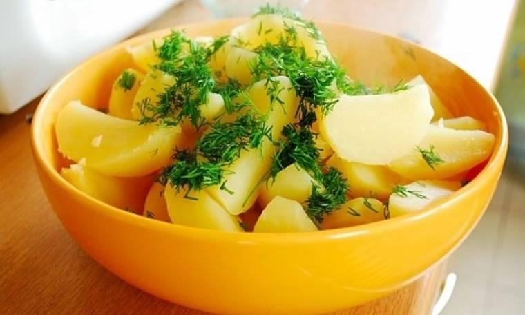 Αρωματισμένες πατάτες φούρνου!