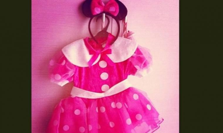Ποιο επώνυμο ζευγάρι θα ντύσει τις απόκριες Minnie Mouse την κόρη του;