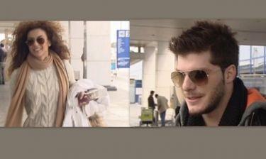Ειρήνη Παπαδοπούλου-Λούκας Γιώρκας: Ταξίδεψαν με την ίδια πτήση. Είναι ξανά μαζί ή μόνο φίλοι;
