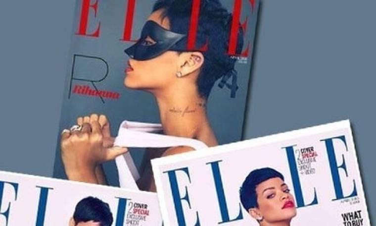Η Rihanna στα καλύτερά της: ποζάρει σε τρία διαφορετικά εξώφυλλα για το περιοδικό Elle Uk πιο όμορφη από ποτέ