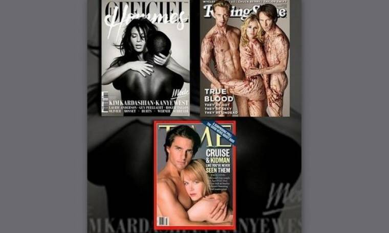 Διάσημα ζευγάρια που φωτογραφήθηκαν γυμνά ή έστω με τα... απολύτως απαραίτητα!