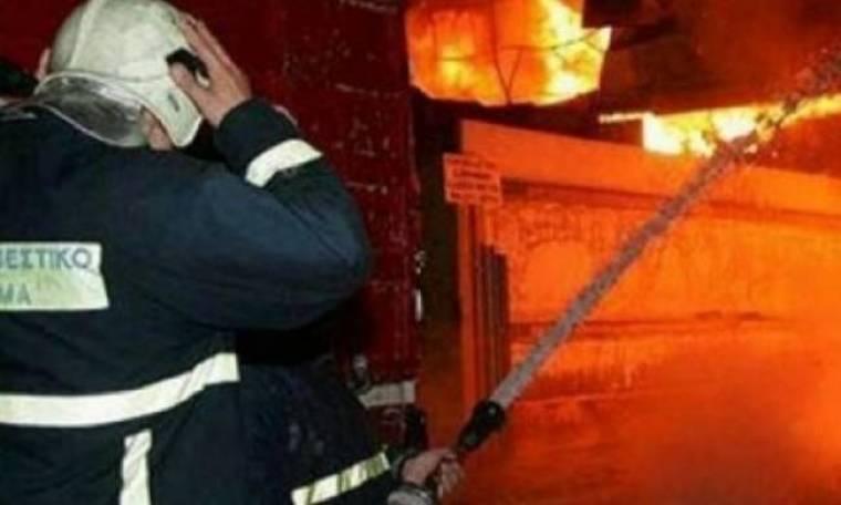 «Συναγερμός» στο Ηράκλειο: Πυρκαγιά και πιστολέρο σε μεζονέτα!