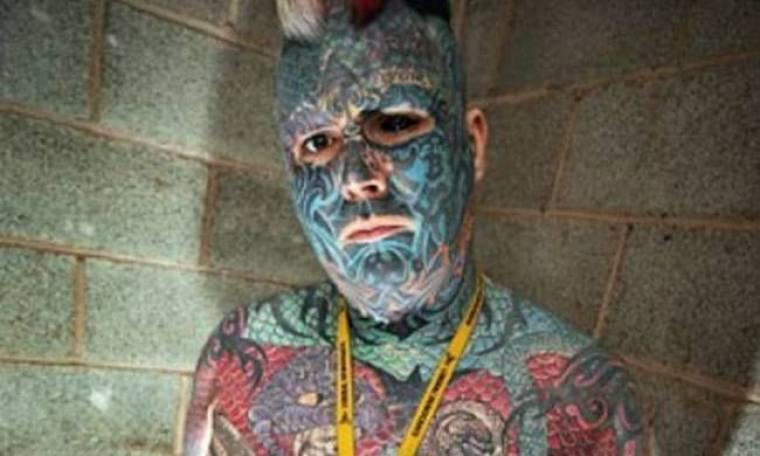 ΔΕΙΤΕ: O άνδρας που έχει τατουάζ ακόμα και στο μάτι!