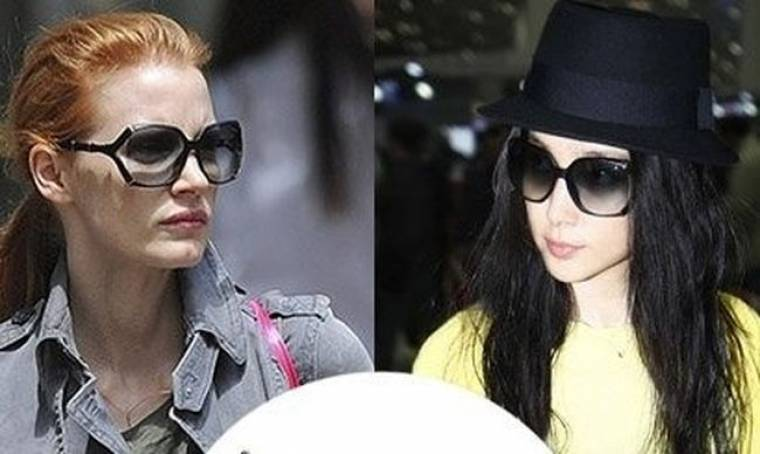 Gucci: τα γυαλιά ηλίου που αγαπούν η Jessica Chastain και η Li Bingbing