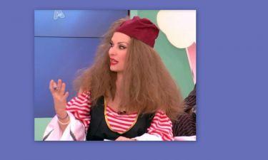 Κοκκινομάλλα η Ελένη Μενεγάκη!