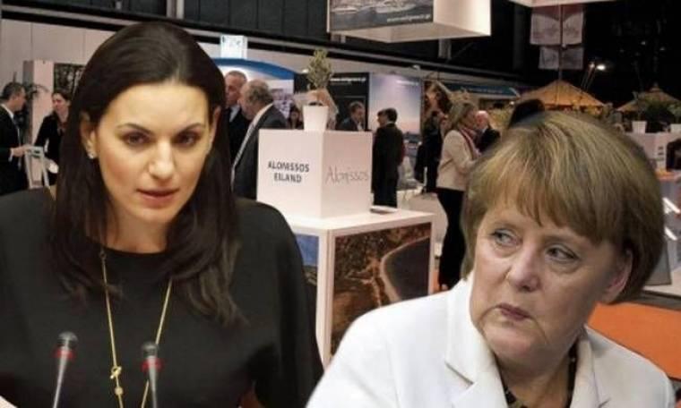 Η Όλγα Κεφαλογιάννη γύρισε την πλάτη στην Μέρκελ