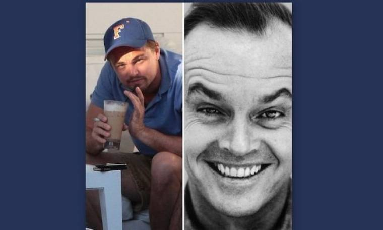 Leonardo Dicaprio- Jack Nicholson: σα δύο σταγόνες νερό