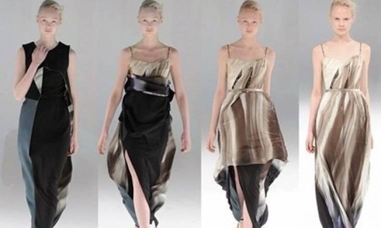 Μαγικά πολυμορφικα φορέματα δια χειρός Hussein Chalayan