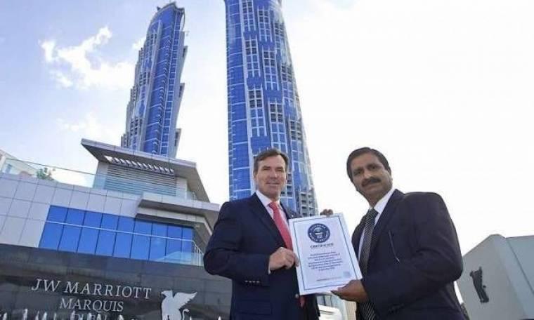 Πήρε βραβείο Γκίνες το ψηλότερο ξενοδοχείο του κόσμου