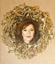 Όλγα Κεφαλογιάννη: Έγινε πορτρέτο μαζί με άλλες 59 βουλευτίνες