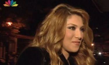 Αγγελική Ηλιάδη: Η πρώτη της εμφάνιση μετά τον Ελληνικό τελικό της Eurovision!