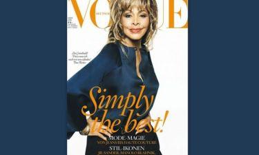 Tina Turner: Έγινε εξώφυλλο στα εβδομήντα τρία της και εντυπωσιάζει!