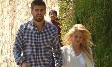 Δείτε την Shakira και τον Gerard Pique με το μωρό τους!