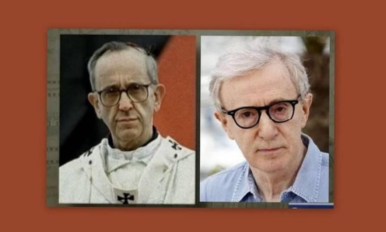 Ο νέος Πάπας μοιάζει στον… Woody Allen