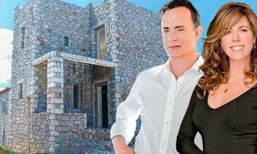 Tom Hanks-Rita Wilson: Μετά την Αντίπαρο, φτιάχνουν ένα μικρό παλάτι και στην Πάτμο