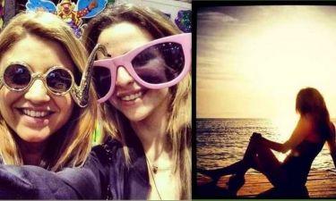 Εριέττα Κούρκουλου: «Μύρισε» Απόκριες και καλοκαίρι η ζωή της! (φωτό)