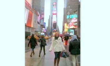 Χριστίνα Παππά: Στιγμιότυπα από τις μέρες και τις νύχτες της στη Νέα Υόρκη