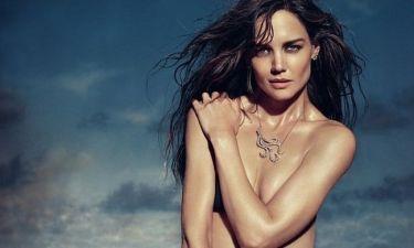 Η topless φωτογράφηση της Katie Holmes!