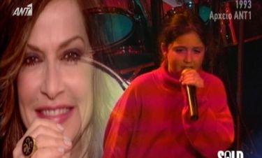 Η Σοφία Καρβέλα τραγουδούσε στα μπουζούκια σε ηλικία 10 ετών!