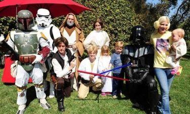 Γενέθλια με θέμα… Star Wars για τον γιο της Tori Spelling
