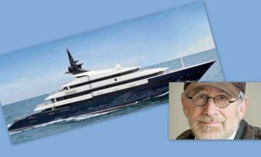 Steven Spielberg: Διακοπές με yacht αξίας 200 εκατομμυρίων δολαρίων