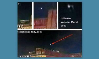 Βίντεο: UFO πάνω από το Βατικανό κατά την αναγγελία του νέου Πάπα;