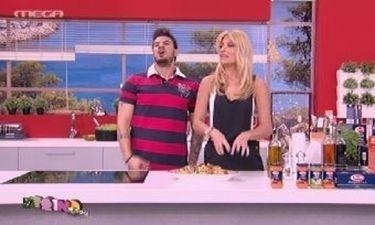Το στοίχημα της Σκορδά: Θα φάει μισό κιλό μακαρόνια σε μισή ώρα!