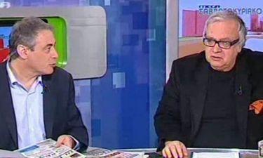 Η ερώτηση του Χασαπόπουλου που εκνεύρισε τον Αναγνωστάκη on air!