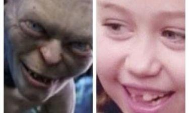 Ποια σταρ είπε πως μικρότερη ήταν τόσο άσχημη όσο... το Gollum;