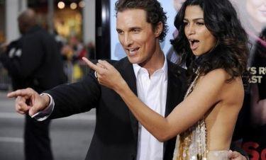Matthew McConaughey: «Έχω μια σύζυγο που με προκαλεί»