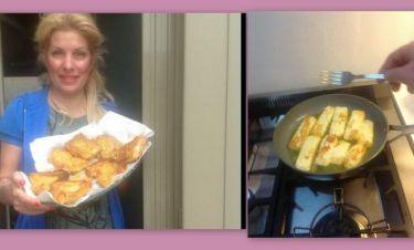 Η Μενεγάκη μαγειρεύει στην κουζίνα της και σερβίρει μπακαλιάρο! Τι αποκάλυψε για τις διακοπές της!