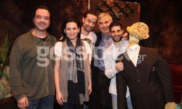 Η Όλγα Κεφαλογιάννη πήγε θέατρο!