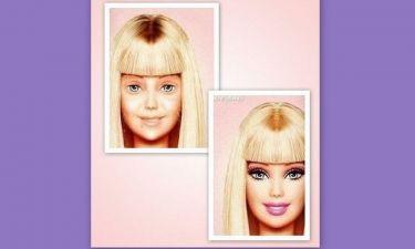 Η Barbie όπως δεν θα τη φανταζόσασταν ποτέ: Δείτε τη διάσημη κούκλα χωρίς ίχνος μακιγιάζ!