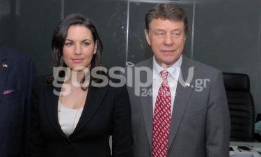 Ο Ότο Ρεχάγκελ συνάντησε την Όλγα Κεφαλογιάννη