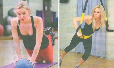 Η Βίκυ Κάβουρα διδάσκει… pilates